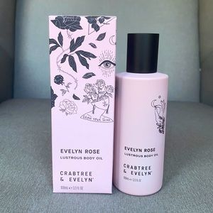 Crabtree & Evelyn Evelyn Rose Lustrous Body Oil